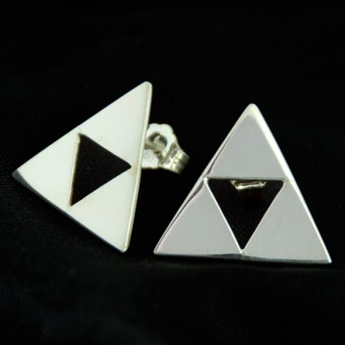 Triforce örhängen - Sketchy Stories
