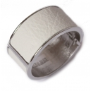 Rita wide leather armband