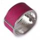Rita läder armband pink - Tokyo Jane