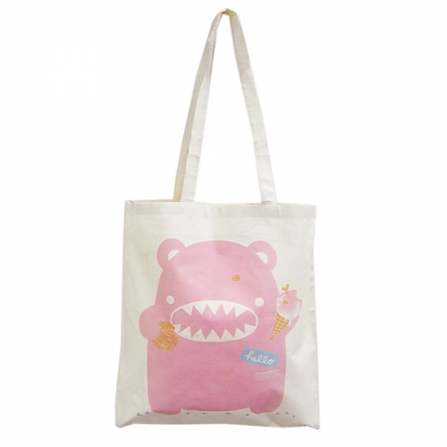 Eco Bear Shopping Väska Pink - Noodoll