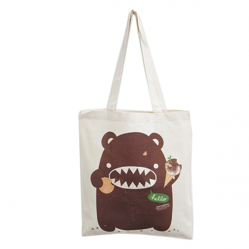 Eco Bear Shopping Väska Chocolate - Noodoll