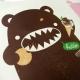 Eco Bear Shopping Väska Chocolate