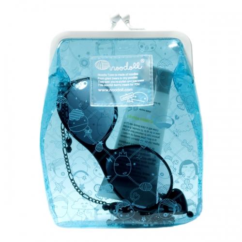 Clutch Väska Small Blue - Noodoll