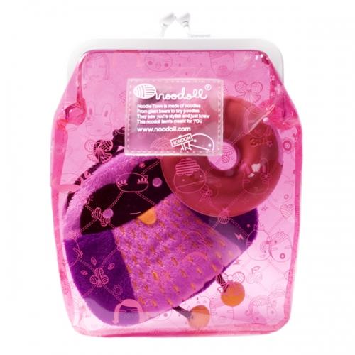 Clutch Väska Small Pink - Noodoll