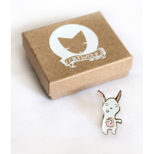 Zombie Bunny Pin - CryWolf