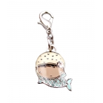 Mermaid Chloe Zipper Pull