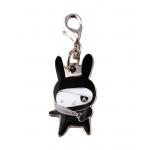 Ninja Bunny Zipper Pull