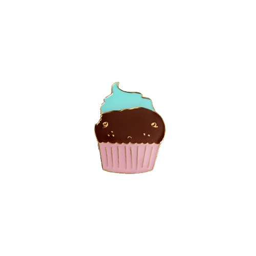 Cupcake Brosch - CryWolf