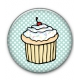 Button Cupcake - CryWolf