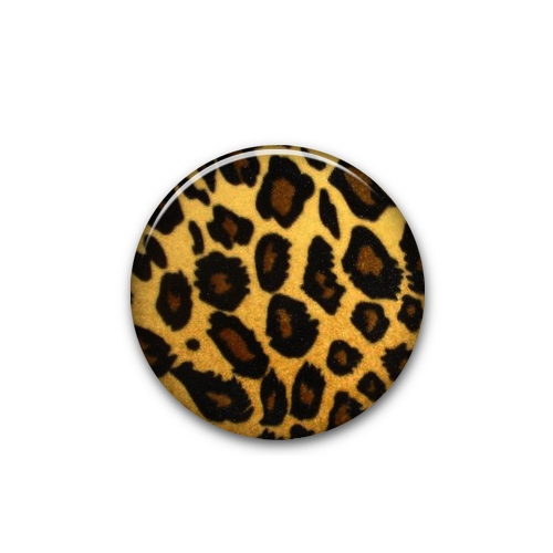 Mini Button Leopard - Crywolf
