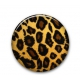 Mini Button Leopard