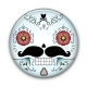 Big Button Calavera