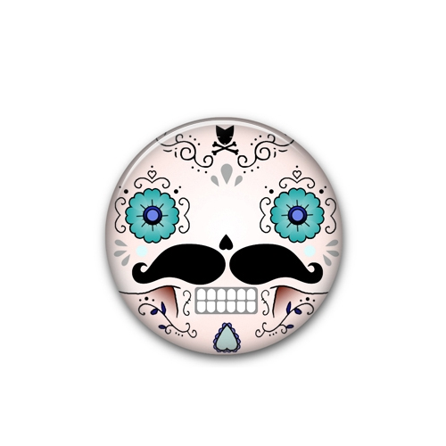 Mini Button Calavera