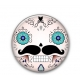Mini Button Calavera
