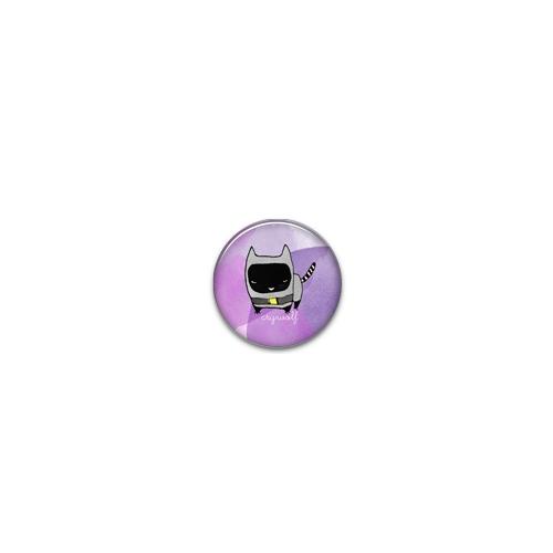 Mini Button Batcat - CryWolf
