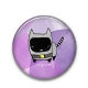 Mini Button Batcat - CryWolf