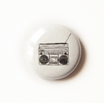Mini Button Boombox
