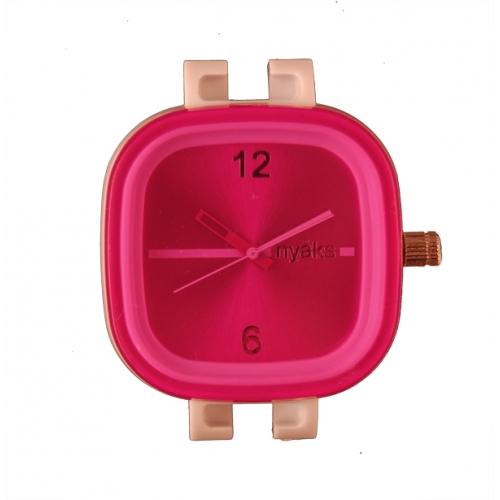 Nyåks Klocka Hot Pink